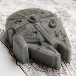 Der Millennium Falcon aus Seife - Bild: The Empire Strikes