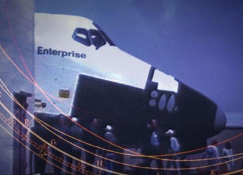 Die Enterprise im Vorspann von Star Trek: Enterprise - Bild: CBS Studios