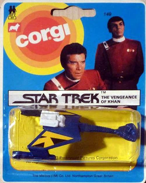 Spielzeug von Corgi mit dem Vengeance of Khan Schriftzug