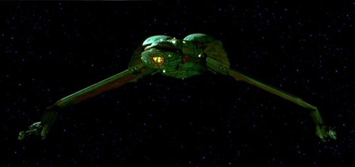 Ein klingonischer Bird-of-Pres - Bild: Paramount