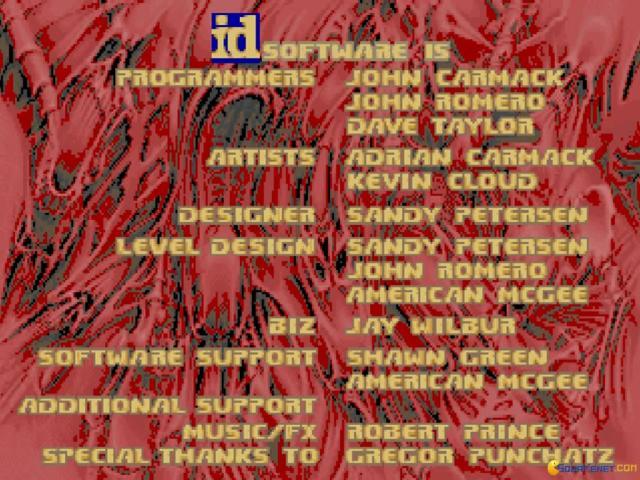 DooM Credits