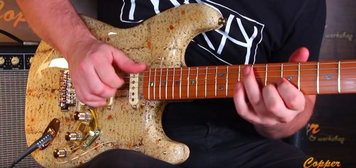 Nudel-Gitarre