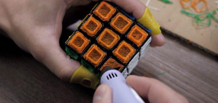 Fühlbarer Rubiks-Würfel
