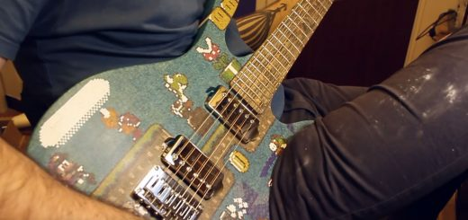 Super Mario World Gitarre