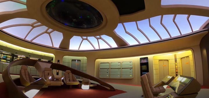 Enterprise D-Brücke