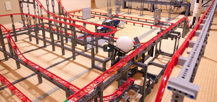 Lego-Achterbahn