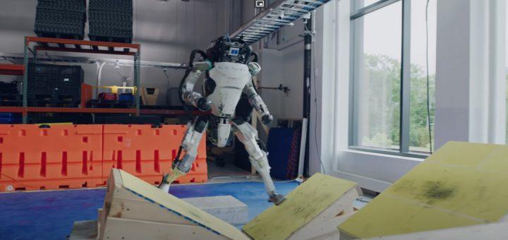 Roboter Parkour