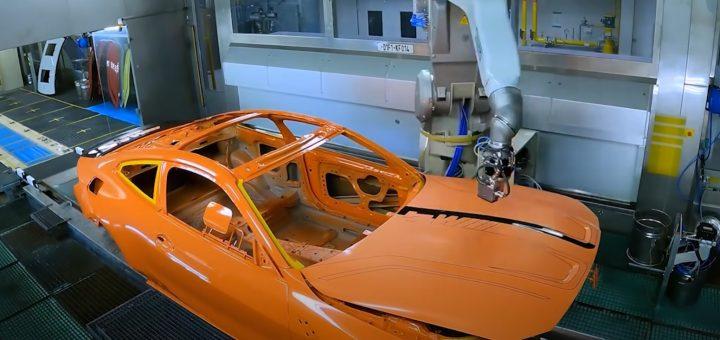 BMW Lackiererbot